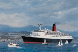 'Welcome Home QE2'
